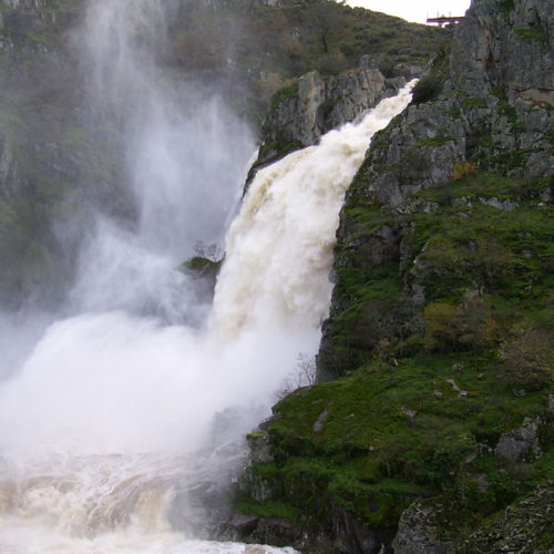 ruta de las cascadas de las arribes del duero